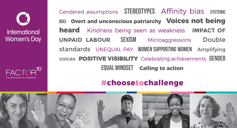 International Women's Day – #Choose to Challenge.